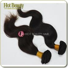 Healthy unprocessed soft and silk body virgin brazilian hair weaving