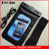 Universal mobile phone pvc waterproof bag for iphone and samsung