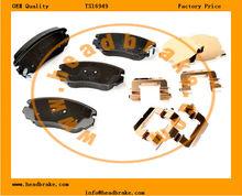 lacrosse III front brake pad set 13312895