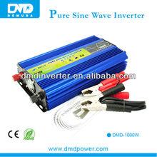 2014 New products pure sine wave single phase 12v 220v solar power inverter 1000w off grid for agricultural irrigation pumps