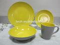 gelb und grau geschirr markennamen