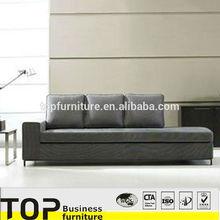 High Quality Office Visitor Sofa For Executive Cream Color Leather Fashion Office sofa