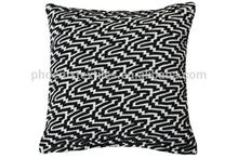 fancy zebra wholesale turkish knit pillow case