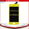 lcd screen replacement mobile phone for iphone 5 digitizer lcd assembly yellow