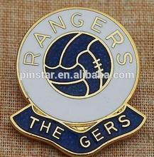 RANGERS ( GLASGOW ) FOOTBALL CLUB - SUPPORTERS - LAPEL BADGE cheap soccer badge lapel pin