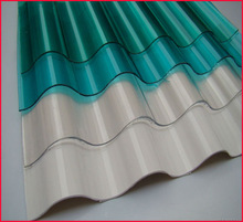 Waterproof polycarbonate plastic roofing sheet