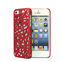sample color bird nest phone case for iphone 5c/5/5s