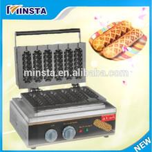 CE hot dog stand making machine 2014 China french corn hot dog waffle stick maker