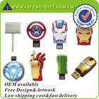 Custom Silicone Marvel Hero USB Flash Drive