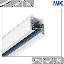 Round Black White, Black, Sliver Track Rail 2 Wire 4 Wire 4 Wire 1M, 1.5M, 2M, 3M Copper Aluminum Profile Rail