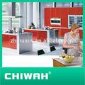 padrão americano moderno tipo modular de madeira sólida cozinha shaker gabinete