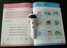 Reader pen Factory Custom Baby Books Reading pen in 5 languages