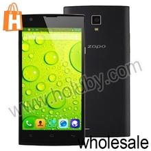 ZOPO ZP780 Smartphone MTK6582 Android 4.2.2 Quad Core 5.0 Inch ZOPO Smartphone 4GB+1GB Support Dual SIM Dual Camer WIFI