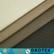 wholesale china manufacturer EN1149 cvc cotton/poly woven twill fireproof textile FR antistatic fabric for safety clothing