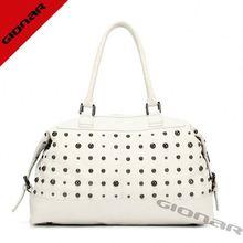 2014 fashion girl school bag 2014 leather knitting bag