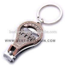 custom metal madrid espana souvenir nail clipper keyring (KBK53214)