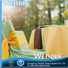 jacquard fashion design wholesale fancy wedding chair cover sashes manufacturer