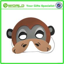 Lovely Eva foam monkey mask for kids