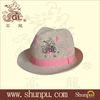 2014 fashion man's summer straw fedora hat