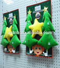 2014 new design Christmas tree car accessory / soft star car accessory