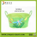 nouveau produit alibaba chine fournisseur maisondécor pots de fleurs en métal animaux jardinières