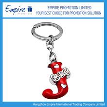 Promotional custom design key chain free samples