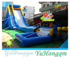china manufacturing cheap giant commercial grade inflatables slide water slides with a pool for adults and kids for sale