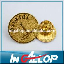 Gold plated masonic lapel pins
