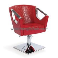 salon chair black pu