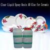 Clear Liquid Epoxy Resin AB Glue for Ceramic