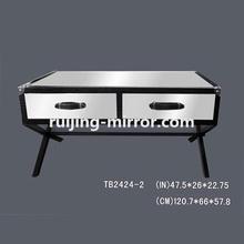 sheesham wood coffee table mirror furniture
