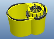 Useful wringer mop buckets,VA380