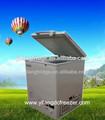 158 12v/24v litro con energía de la batería de cc congelador del pecho profundo para al aire libre crema de hielo utilizado