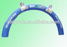 2014 new advertising cartoon inflatable arch door