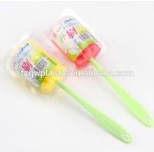 Wonderful design plastic baby milk cleaning bottle brush