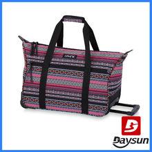 Fashionable Women's travel bag Carry On Valise Travel Bag on wheels