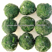 OEM brands and balls frozen spinach