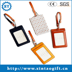 Cheap Leather tag luggage label of China supplier