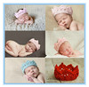 2014 new style fashion winter plain elastic baby hair accessories wool knitted headbands wholesaler