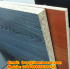 solid colour/wood grain colour particle board for cabinet 18mm thickness hot sale