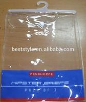 Custom printing pvc vinyl hanger bag fishing hook plastic bags