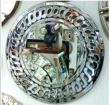On sale etching venetian wall mirror elegant mdf backboard, decorative mirror, venetian mirror--mabel