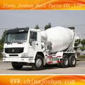 Howo 6x4 mikser kamyonu, 8m3 mini kamyon beton kar�