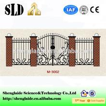 2014 Aluminum Iron Gate Door Prices ISO9001 M3002 manufacturer