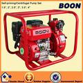 Qgz100-30 motor de gasolina 6.5hp irrigação da exploração agrícola bomba de água máquina