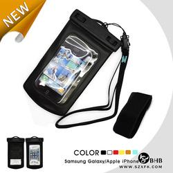 pvc waterproof mobile phone sling bag