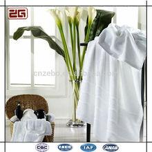 Hot Sell Average Size Customize Logo 21 Cotton White Hotel Towels