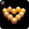 2014 Easter Decoration China Wholesale Heart Shape Tea Light Candle