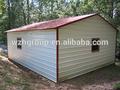 metal moldado aço galvanizado garagem com qualquer modelo que você gosta