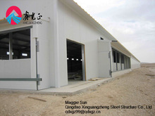 Pre-engineering industrial poultry house structure plans building